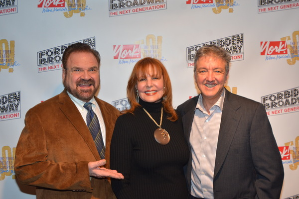 Gerard Alessandrini, Carol Ostrow and John Freedson Photo