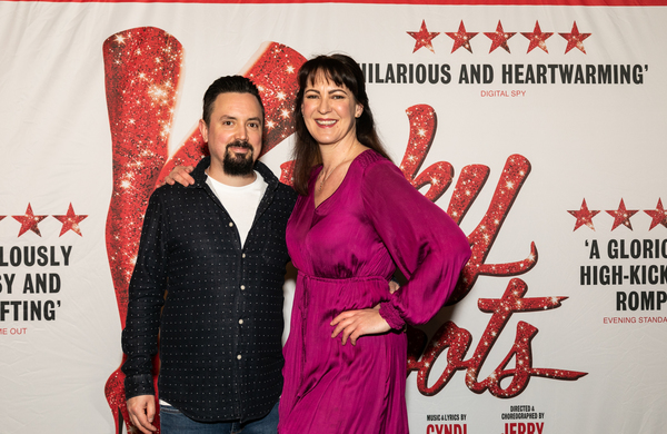 Photo Flash: See Matt Henry & More at the KINKY BOOTS Cast and Crew Screening