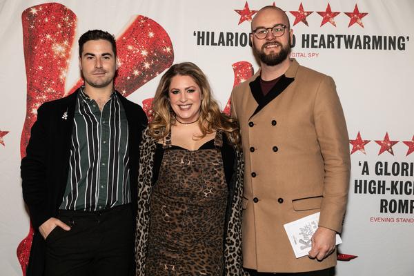 Jordan Fox, Rosie Glossop, and Keith Higham