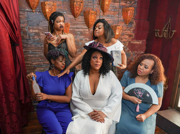 Photo Flash: Meet the Women of CHICKEN AND BISCUITS at Queens Theatre