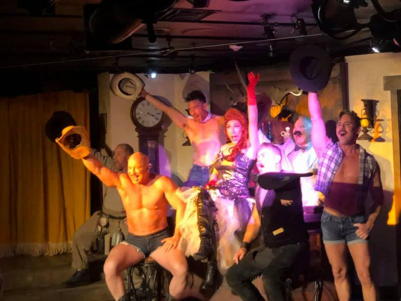BWW Review: Desert Rose's THOSE MUSCLEBOUND COWBOYS FROM SNAKE PIT GULCH is a Rip-Roaring Yee-Haw!