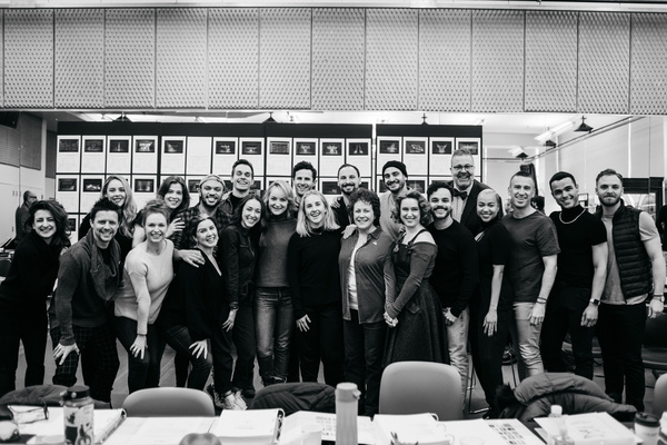 Photo Flash: The Company of DIANA On Broadway Heads Into Rehearsals