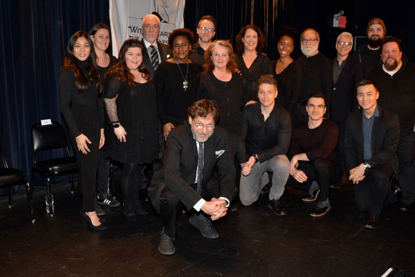David Staller (Director), Jack Cummins (Stage Manager) and Taylor Mankowski (Stage Manager) join with Tonight's Cast-Teresa Avia Lim, Marissa Rosen, Patrick Page, Stephanie Weeks, Christian Conn, Patti Perkins, Karen Ziemba, Christian DeMarais, Alicia Thomas, Robert Zukerman, Dan Domingues, Mark Waldrop, Davis Huynh and Justin Robertson