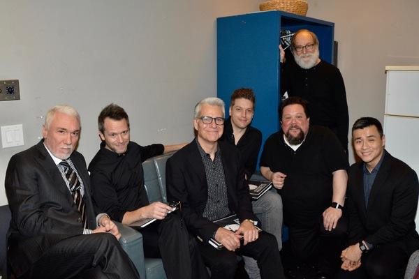 Patrick Page, Christian Conn, Mark Waldrop, Christian DeMarais, Justin Robertson, Robert Zukerman and David Huynh