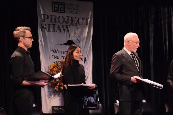 Christian Conn, Teresa Avia Lim and Patrick Page Photo