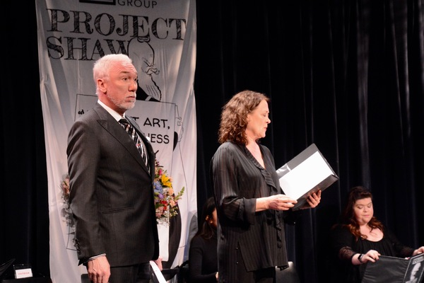 Patrick Page and Karen Ziemba Photo
