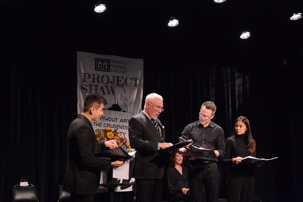 David Huynh, Patrick Page, Christian Conn and Teresa Avia Lim