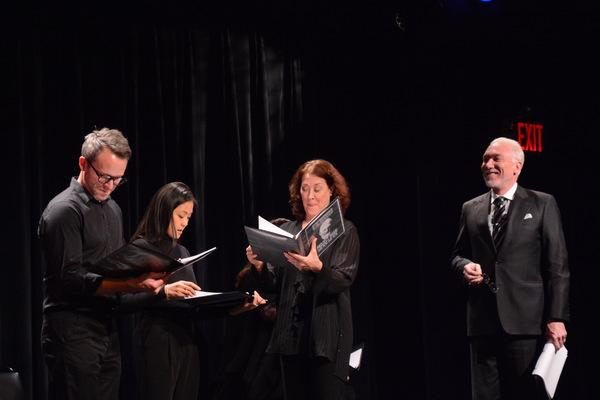 Christian Conn, Teresa Avia Lim, Karen Ziemba and Patrick Page
