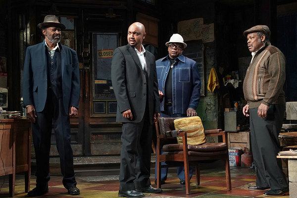 Anthony Chisholm as Fielding, Francois Battiste as Booster, Harvy Blanks as Shealy and Ray Anthony Thomas as Turnbo