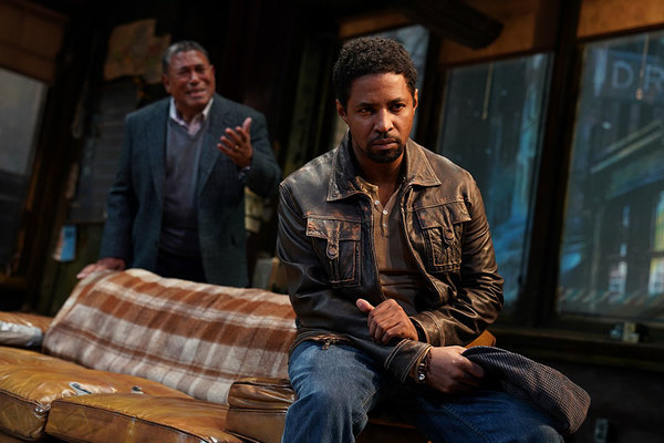 Steven Anthony Jones as Becker (background) and Amari Cheatom as Youngblood