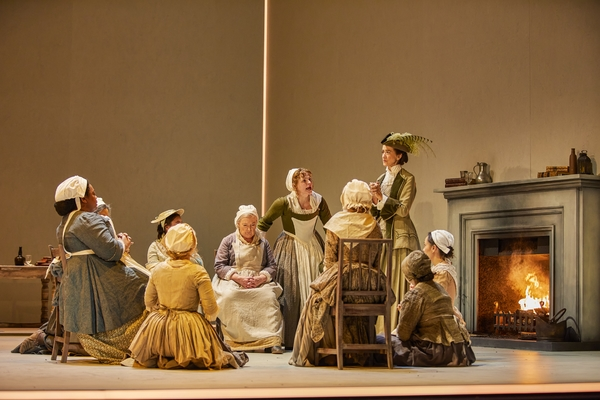 Cast of The Welkin at the National Theatre