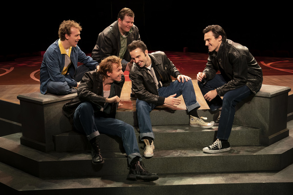 Photos: Check Out Photos of GREASE Opening Tomorrow at the Marriott Theatre