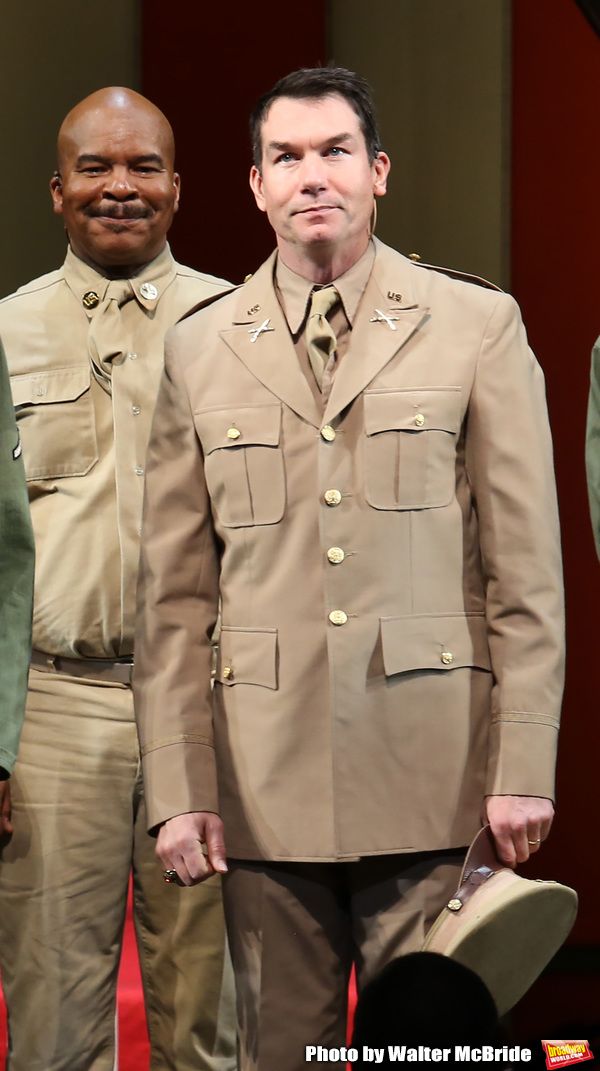 Photo Coverage: The Cast of A SOLDIER'S PLAY Takes Their Opening Night Bows