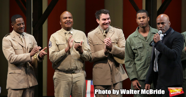 Kenny Leon, Blair Underwood, David Alan Grier and Jerry O'Connell  Photo