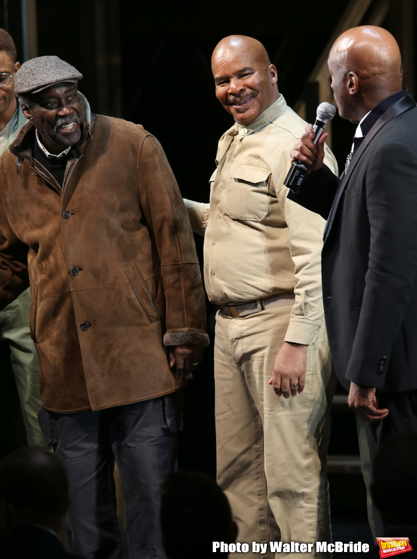 Charles Fuller and David Alan Grier with Kenny Leon