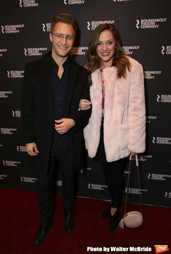 Nathan Johnson and Laura Osnes Photo