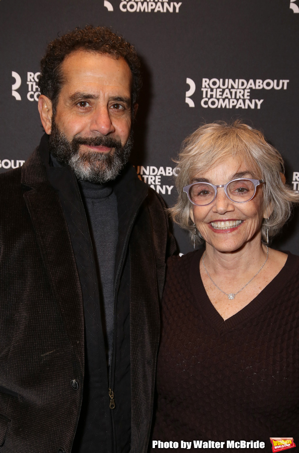 Tony Shalhoub and Brooke Adams Photo