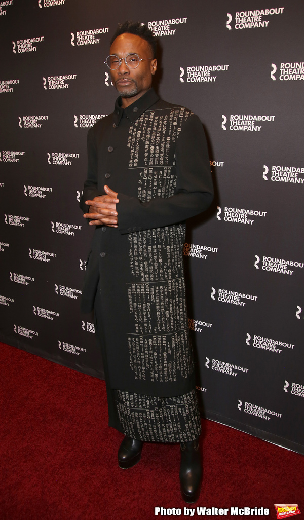 Photo Coverage: Billy Porter, Magic Johnson, and More Walk Red Carpet at Opening Night of A SOLDIER'S PLAY
