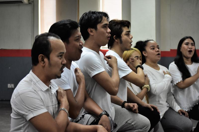 Photo Coverage: In Rehearsal With San Pedro Calungsod The Musical, Starring Gerald Santos