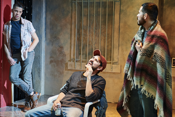Photo Flash: First Look at THE LEOPARD PLAY at Steep Theatre
