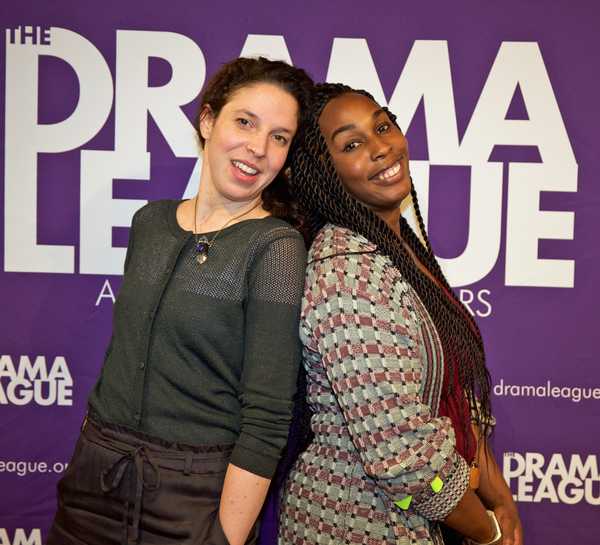Lindsey Hope Pearlman (Director, Appearances),  NJ Agwuna (Director, The Lover)  Photo