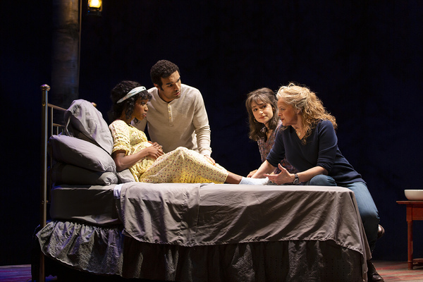 Photo Flash: First Look at the World Premiere of MIDWIVES at  George Street Playhouse