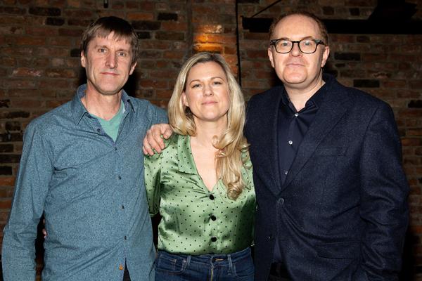Simon Hale, Lucy Hind, Conor McPherson Photo