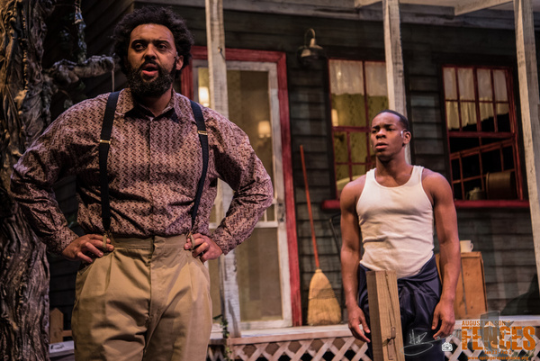 Photo Flash: A First Look At August Wilson's FENCES At Springer Opera House
