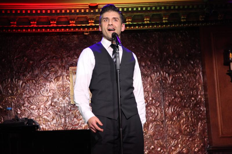 BWW Review: Tony Yazbeck Is The Ultimate Leading Man In BOTH FEET OFF THE GROUND at 54 Below