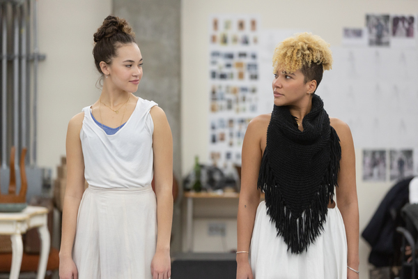 Photo Flash: Emmy Raver-Lampman, Solea Pfeiffer, and More in Rehearsal For GUN & POWDER at Signature Theatre