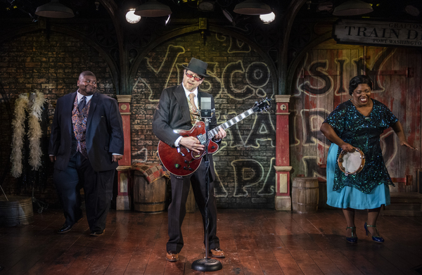 Photo Flash: Milwaukee Repertory Theater Presents CHASIN' DEM BLUES