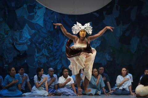 BWW Review: PLANET SEBUAH LAMENT is an Achievement and Celebration of Melanesian Art