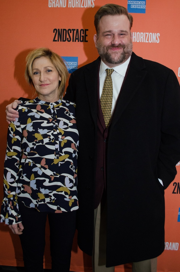 Edie Falco and Stephen Wallem Photo