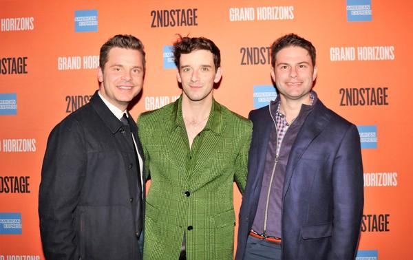 Nick Mayo, Michael Urie and Doug Nevin Photo