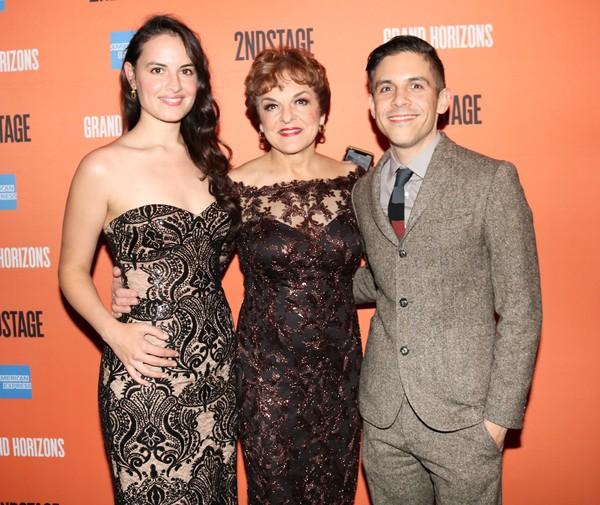 Gabriella Lopez, Priscilla Lopez and Matthew Lopez Photo