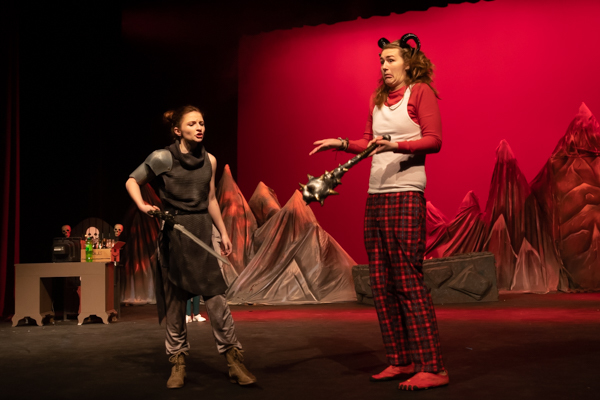 Photo Coverage: First Look at Hilliard Bradley Theatre's SHE KILLS MONSTERS