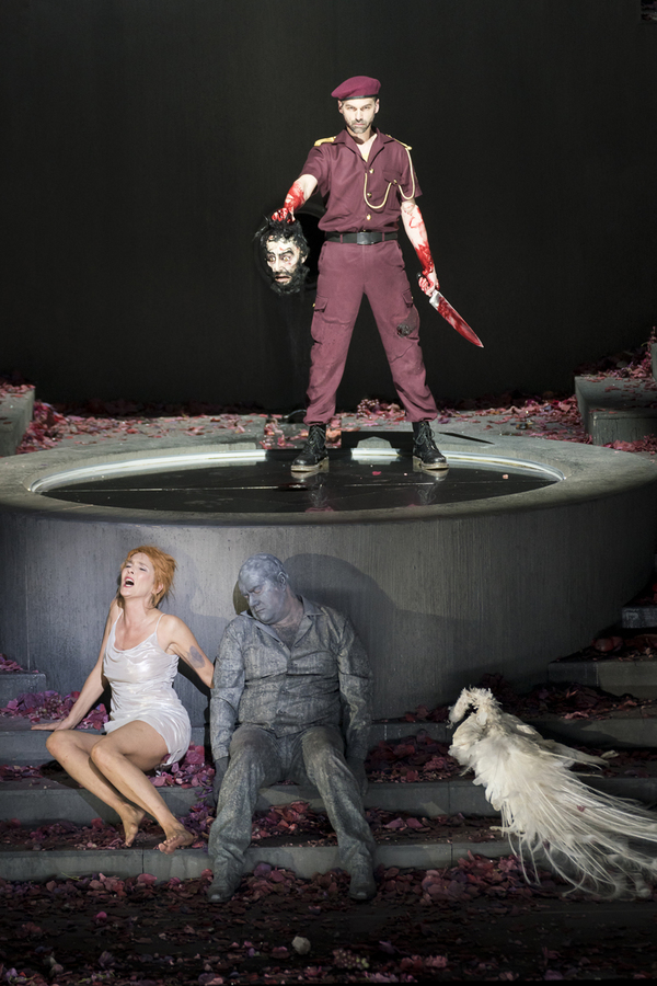 Photo Flash: First Look at SALOME at Theater an der Wien, Featuring Puppets!