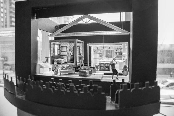 Photo Flash: Inside Rehearsal For Signature Theatre's THE HOT WING KING