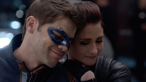 Photo Flash: Get a First Look at Jeremy Jordan's Return to SUPERGIRL