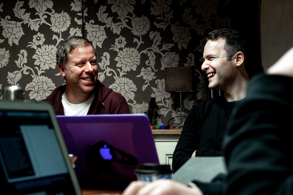 Photo Flash: Inside Rehearsal For Jeeves and Wooster in PERFECT NONSENSE on UK Tour