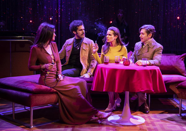 Photo Flash: First Look at Jennifer Damiano, Michael Zegen and More in BOB & CAROL & TED & ALICE