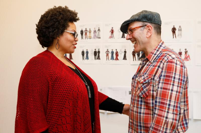 Photo Flash: In Rehearsal with LCT's INTIMATE APPAREL Directed by Bartlett Sher