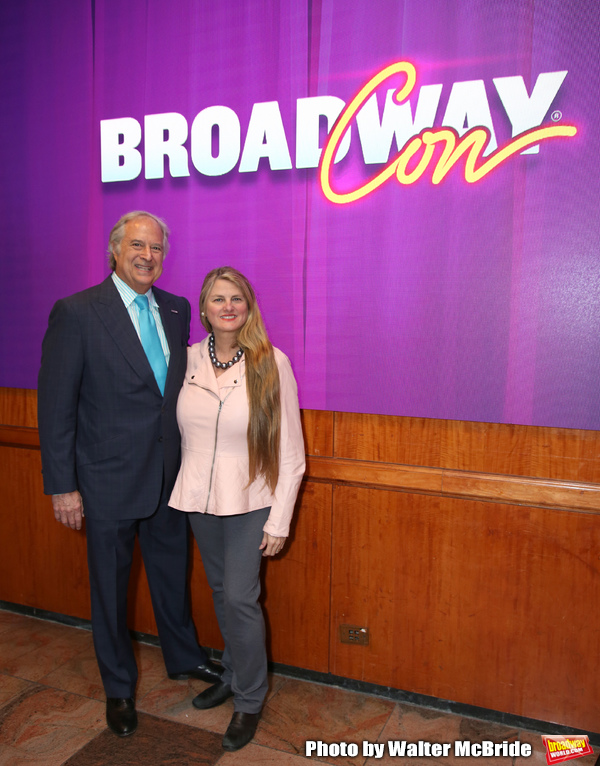 Stewart F. Lane and Bonnie Comley from BroadwayHD  Photo
