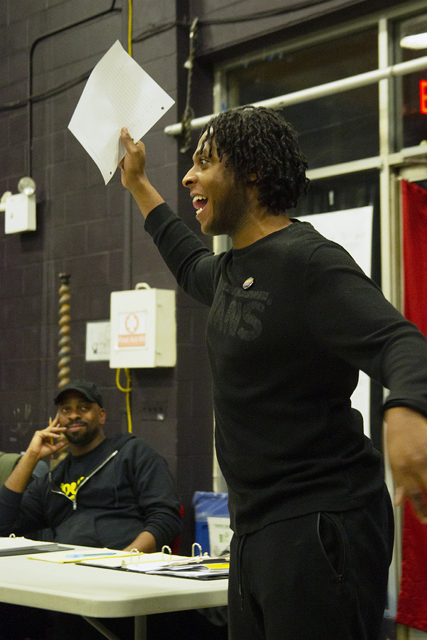 Photo Flash: In Rehearsal With Titan Theatre Company's THE AFRICAN COMPANY PRESENTS: RICHARD III