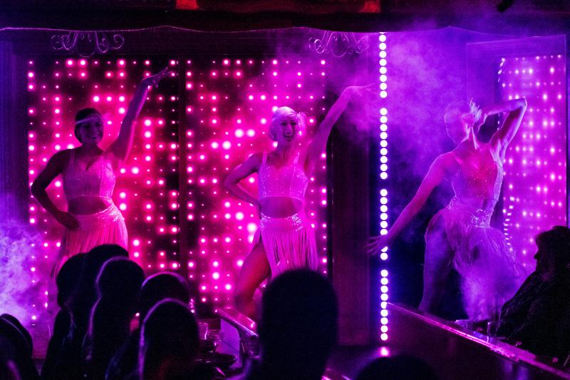BWW Review: PEACOCK at The Can Can Soars