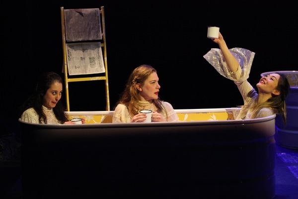 Photo Flash: First Look at THE SPORTING LIFE OF ICARUS JONES at THE DROWNING GIRLS at DirectorFest