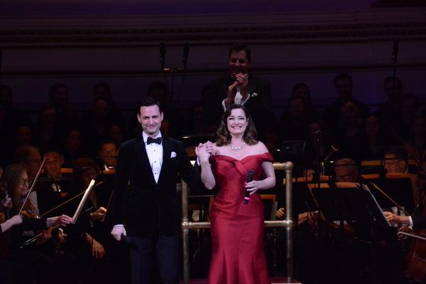 Max von Essen and Laura Michelle Kelly Photo