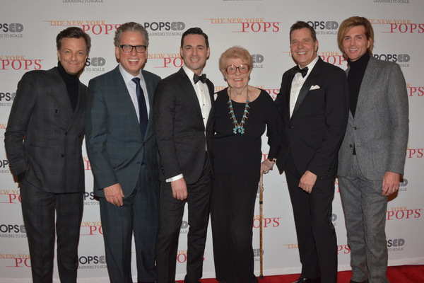 Jim Caruso, Billy Stritch, Max von Essen, June Freemanzon, Steven Reineke and Eric Ga Photo