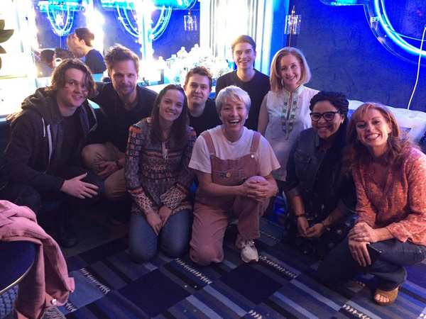 Emma Thompson and the cast of Dear Evan Hansen Photo
