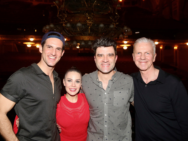 John Riddle, Eryn LeCroy, Meghan Picerno, Ben Crawford and Musical Supervisor David C Photo